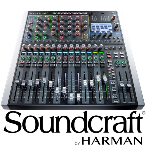 Soundcraft Si Performer 1 / Si Performer1 / 16 채널 / 사운드크래프트 / Professional Audio Mixers / 디지털믹서