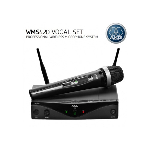 AKG WMS420 VOCAL SET / WMS 420 VOCAL SET / 무선 핸드마이크 세트