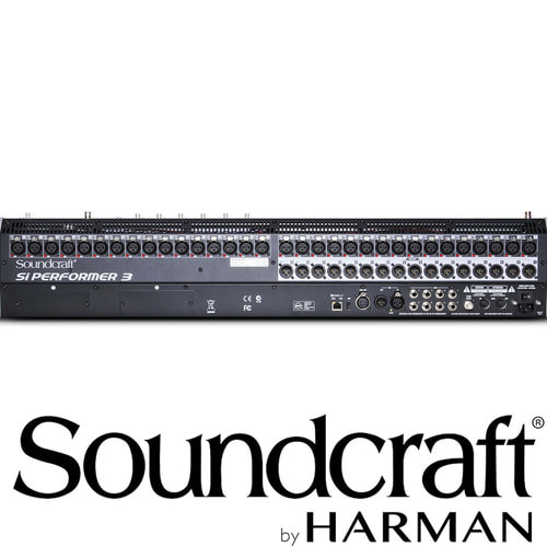 Soundcraft Si Performer 3 / Si Performer 3 / 32 채널 / 사운드크래프트 / Professional Audio Mixers / 고급형 디지털 믹서
