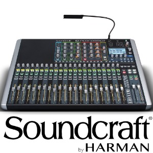 Soundcraft Si Performer 2 / Si Performer 2 / 24 채널 / 사운드크래프트 / Professional Audio Mixers / 고급형 디지털 믹서